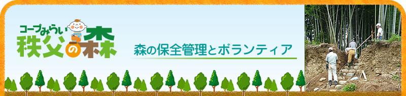 秩父の森|森の保全管理とボランティア