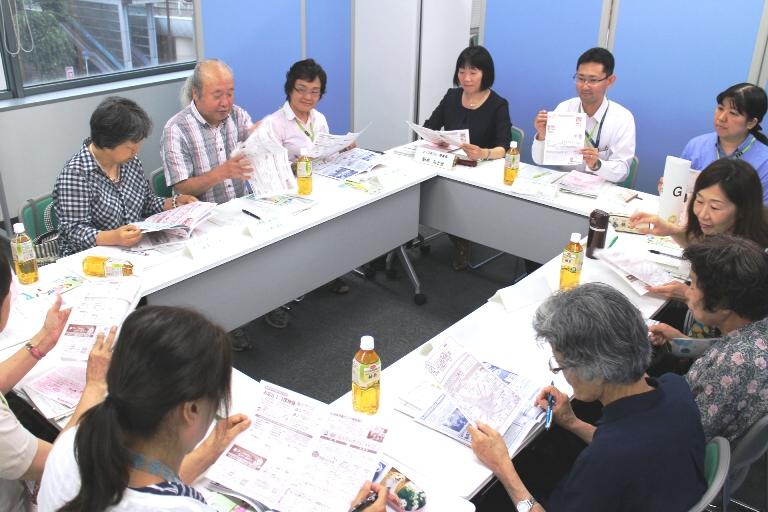各グループごとに活発な意見交換が行われました。