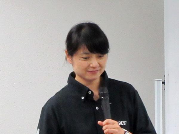 講師の渡貫さんの写真