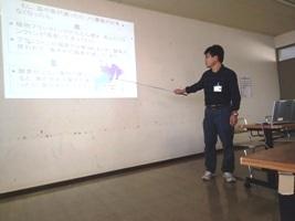千葉県水産総合研究センター林氏の講義