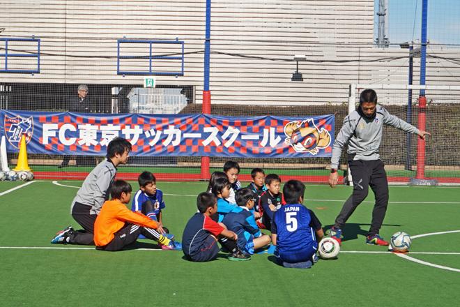 子どもたちとコーチ
