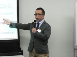 コミュニケーション・CSR推進室 宮川の講義