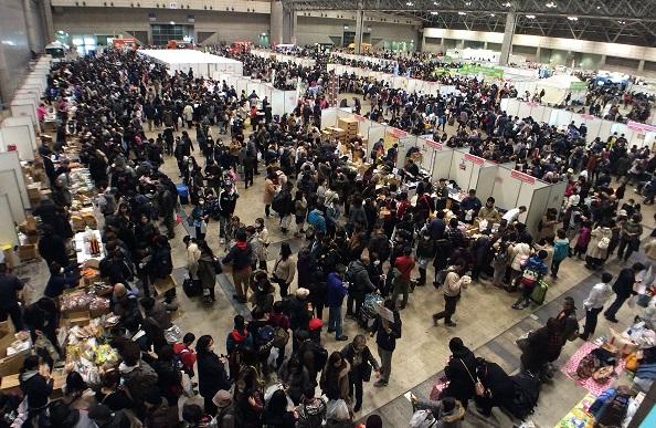 約3万5千人の来場者で賑わいました。