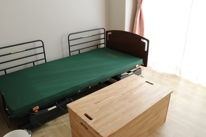 「泊まり」は6部屋設置
