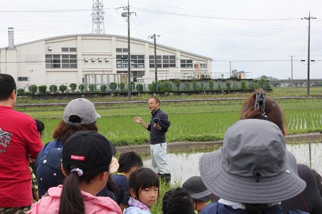 JA埼玉中央の梶野様より植え方について教わりました