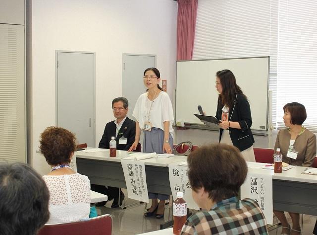 来賓:埼玉県共助社会づくり課 斎藤主査