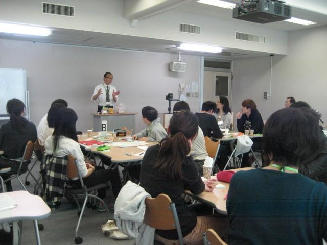 コープ商品の開発についての講義(2014年11月13日)