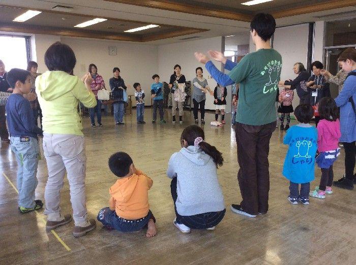 子どものあそびのひろば(2014年3月)