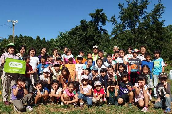 「旬のクッキングスタジオ」参加者の集合写真